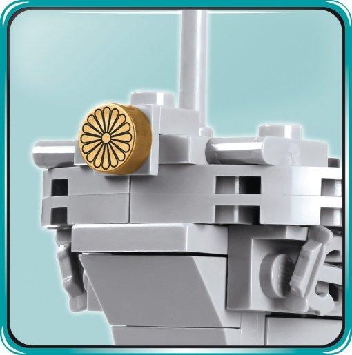 COBI MUSASHI Battleship (4811) Bow