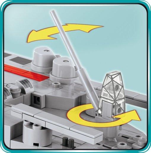 COBI MUSASHI Battleship (4811) Details