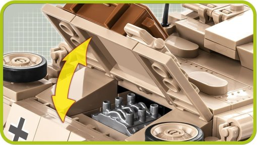 COBI STUG III Tank Set engin Details