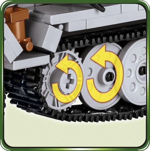 COBI Stummel Set 2472A Tracks