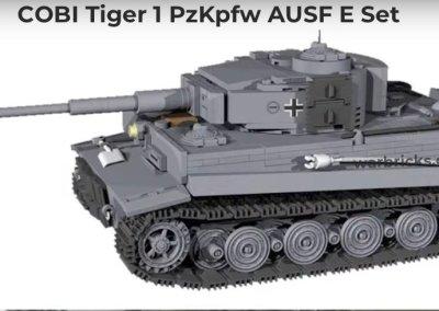 COBI Tiger 1 PzKpfw AUSF E USA Store