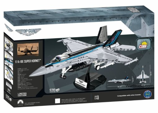 COBI Top Gun F18E Super Hornet Sets Box Detail