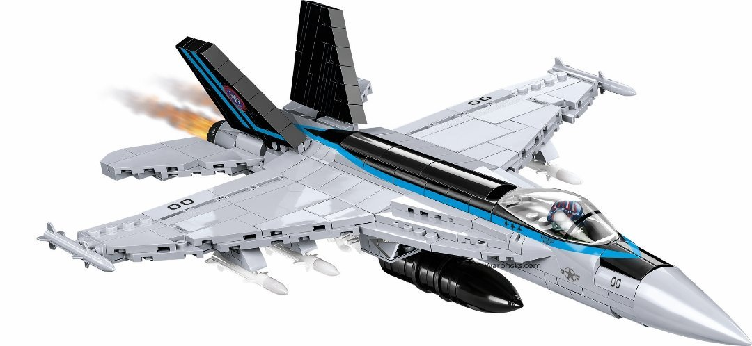COBI Top Gun F18E Super Hornet Sets USA