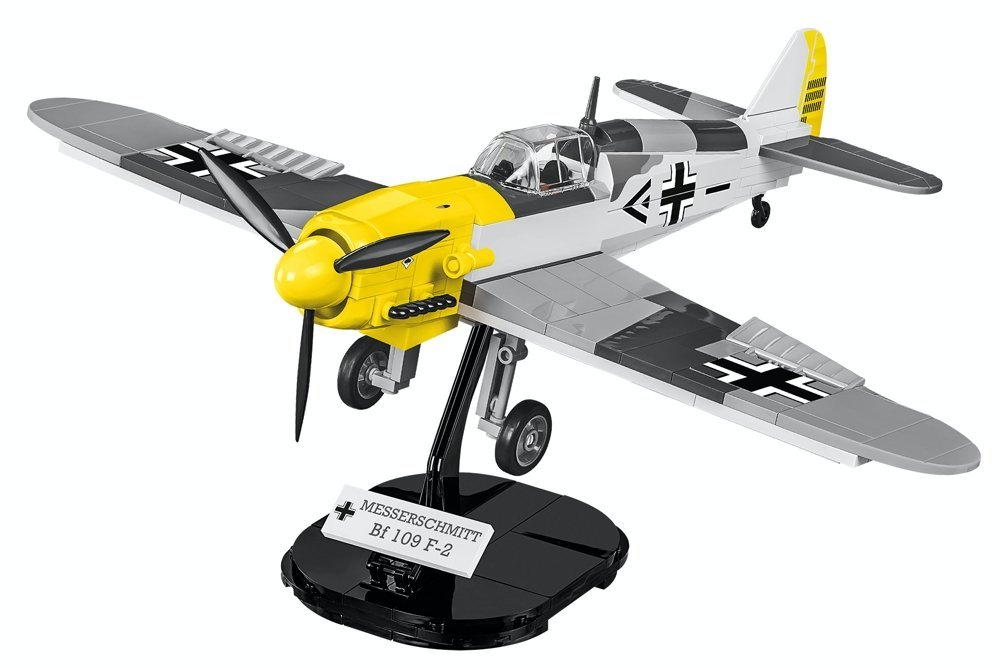 Cobi BF 109 F-2 Brick Set With Display Stand