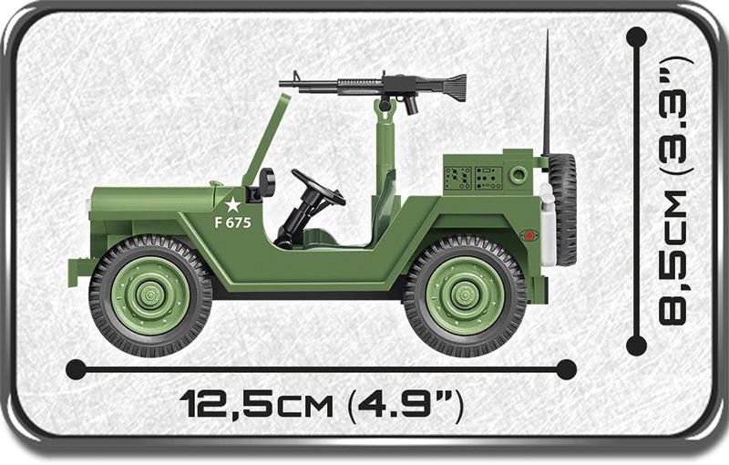 Cobi M151 A1 MUTT Jeep Size