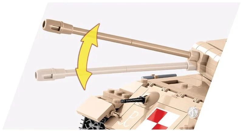 Cobi WOT Panther Warsaw Uprising Tank Barrel