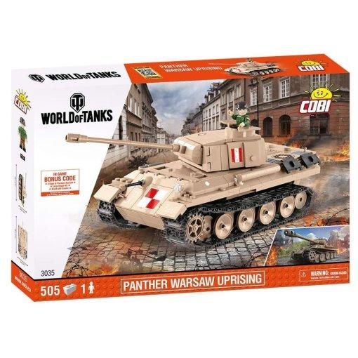 Cobi WOT Panther Warsaw Uprising Tank
