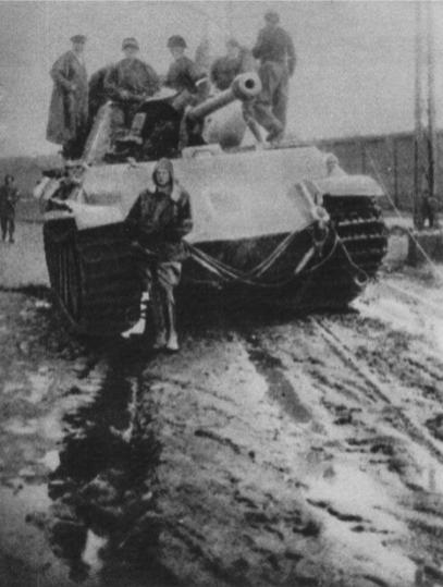 Polish uprising Panther tank
