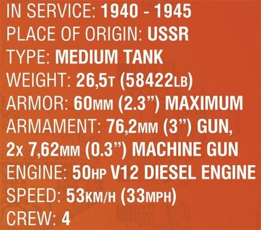 cobi 3061 Soviet t34 Tank