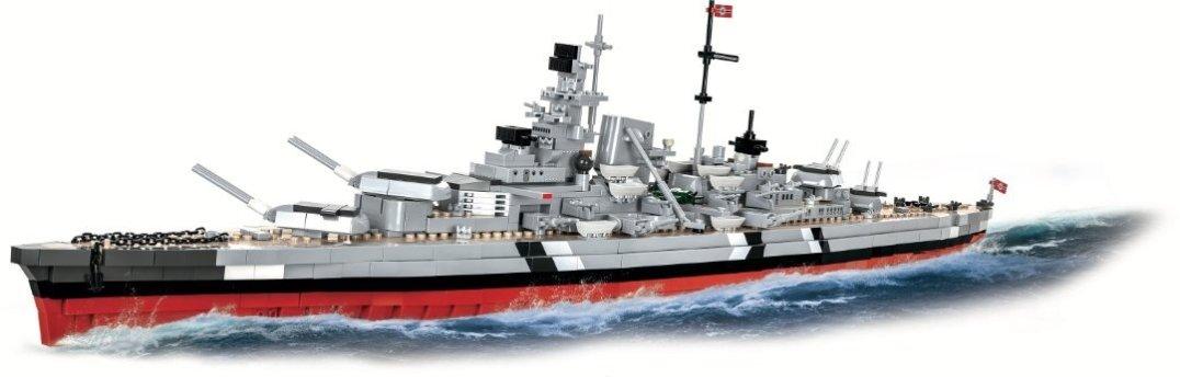 COBI Battleship Bismarck Set (4819) Amazon