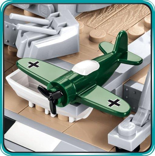 COBI Battleship Bismarck Set (4819) Lego plane