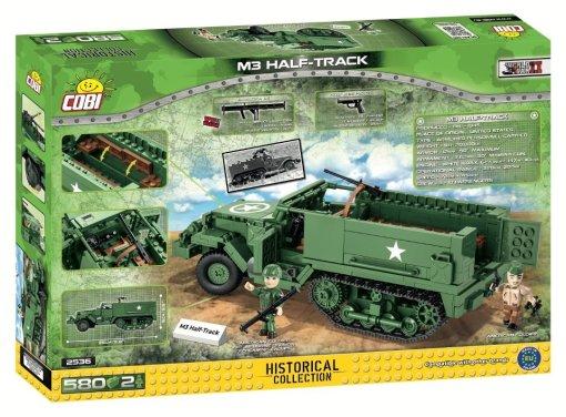 COBI M3 Armored Half-Track Set (2536) Box