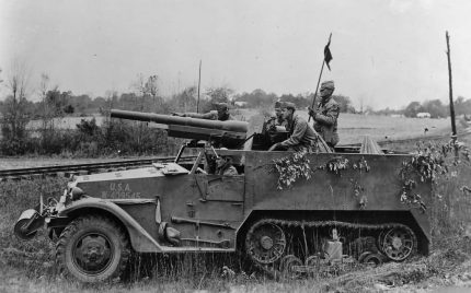 COBI M3 Gun Motor Carriage Camo
