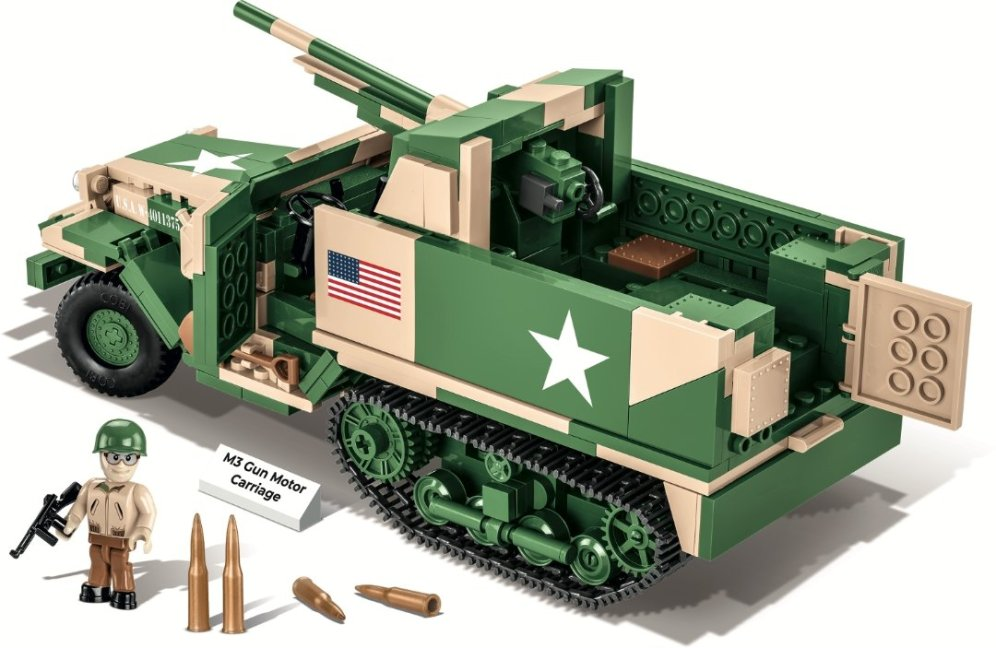 COBI M3 Gun Motor Carriage Set (2535) Amazon prime