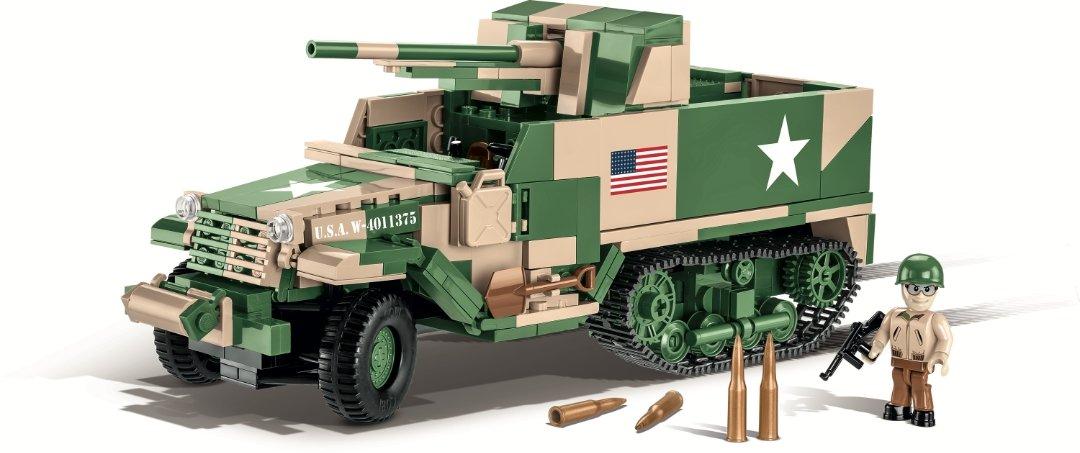 COBI M3 Gun Motor Carriage Set (2535) USA Store