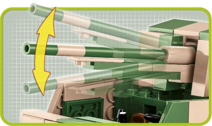 COBI M3 Gun Motor Carriage Set (2535) gun