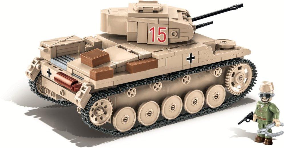 COBI Panzer II Ausf.F Tank Set Best Price