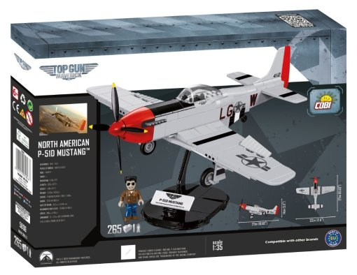 COBI Top Gun P51D Mustang Set box