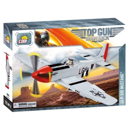 COBI Top Gun P51D Mustang Set
