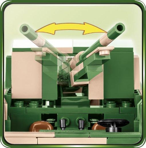 Cobi 2535 M3 Gun Motor Carriage Gun Details