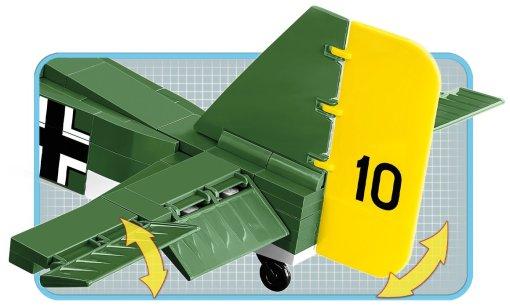 COBI Junkers JU-52 German Version (5710) Features
