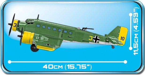 COBI Junkers JU-52 German Version (5710) length