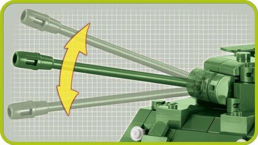 COBI Sherman Firefly Set (2515) Barrel