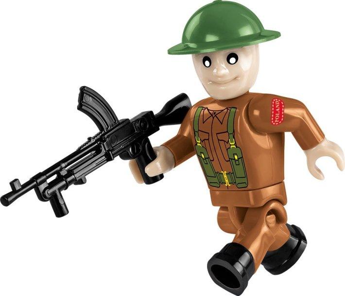 COBI Sherman Firefly Set (2515) British Soldier