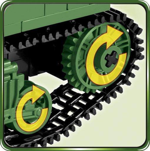 COBI Sherman Firefly Set (2515) Tracks