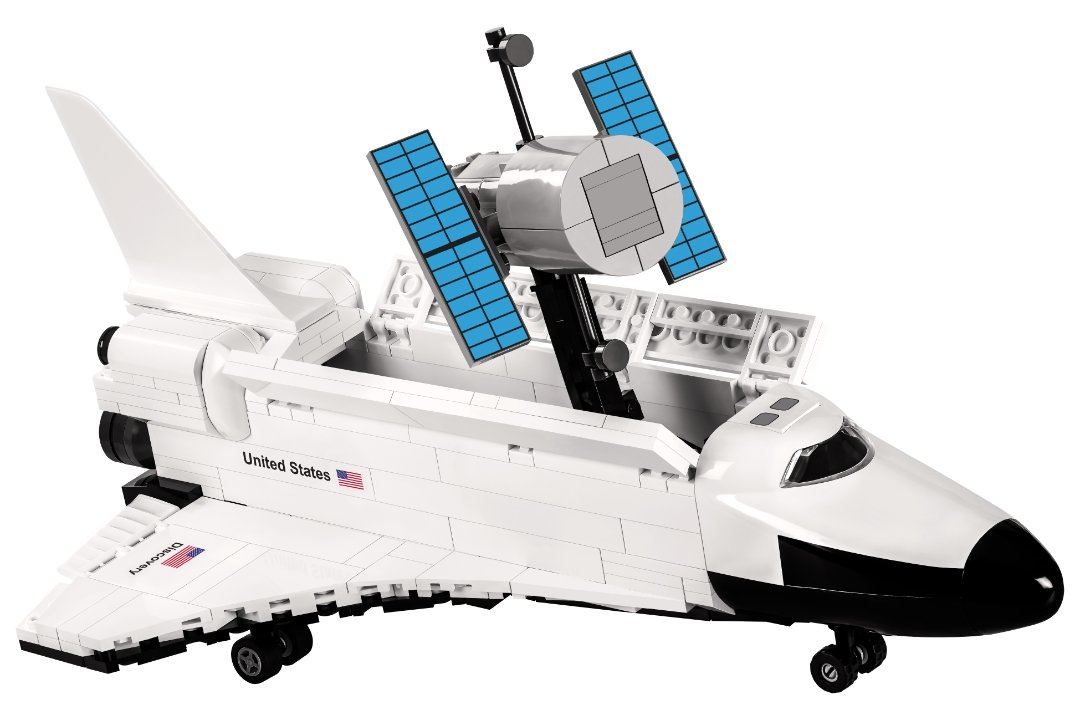 COBI Space Shuttle Discovery with payload (2107A)