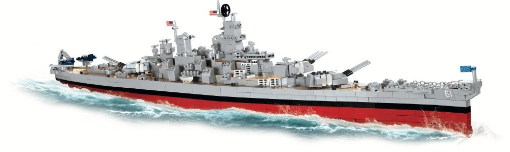 COBI USS IOWA_ USS MISSOURI SET (4812) Best Prices