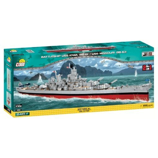 COBI USS IOWA_ USS MISSOURI SET (4812)