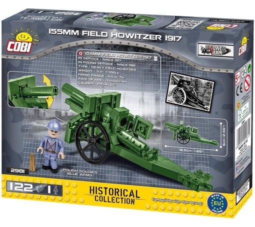 COBI 155 MM Field Howitzer Set Box