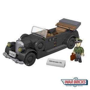 COBI 1938 Mercedes 770 Staff Car Set (2407)