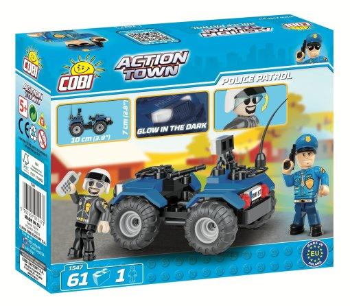COBI ATV Police Patrol Set (1547) Box