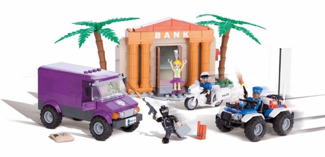 COBI Bank Robbery Set (1566) Best Price