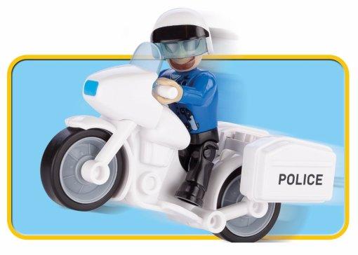 COBI Bank Robbery Set (1566) Police Bike
