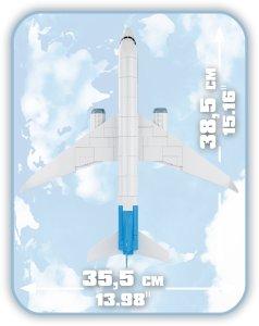 COBI Boeing 737 8 MAX (26175) size