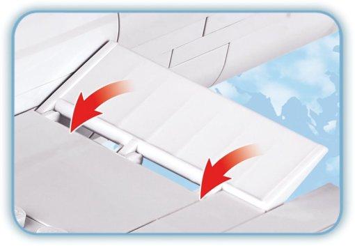 COBI Boeing 777 Set (26261) flaps