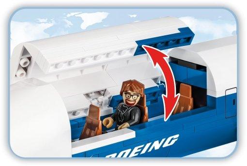 COBI Boeing 777x (26602) Details