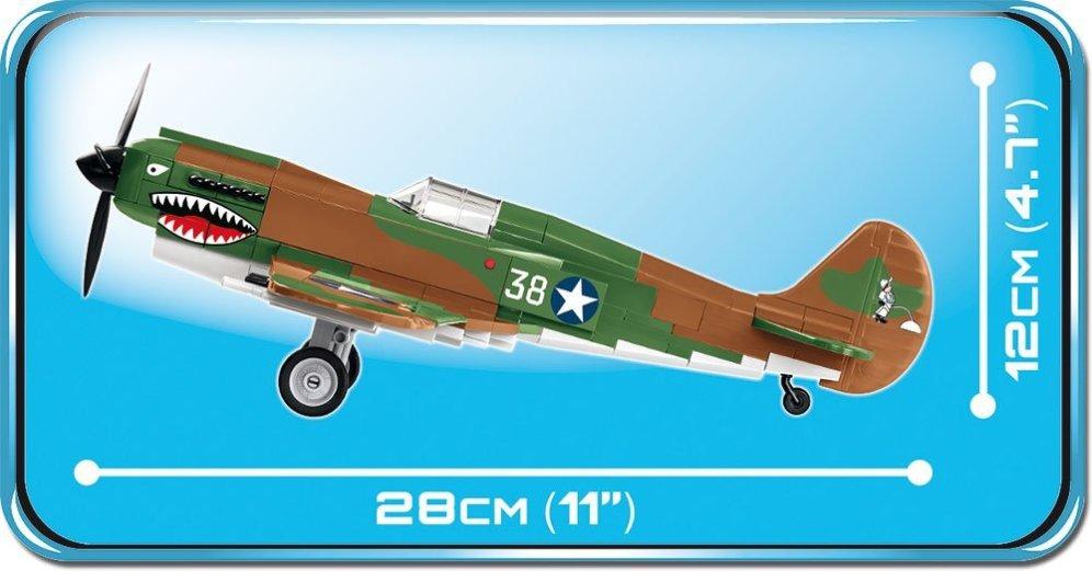 COBI CURTISS P-40E WARHAWK Set (5706) Length
