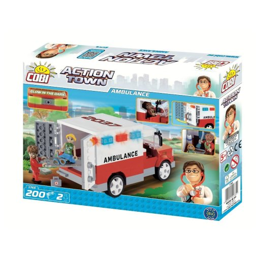 COBI Doctor Ambulance Set (1765) Amazon