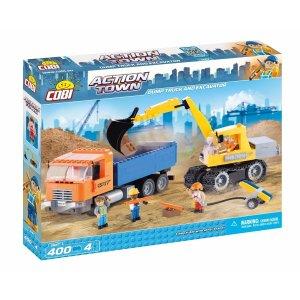 COBI Dump Truck & Excavator Set (1667)