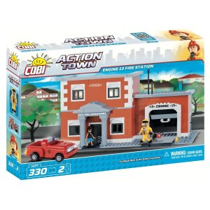 COBI Engine 13 Fire Station Set (1477)