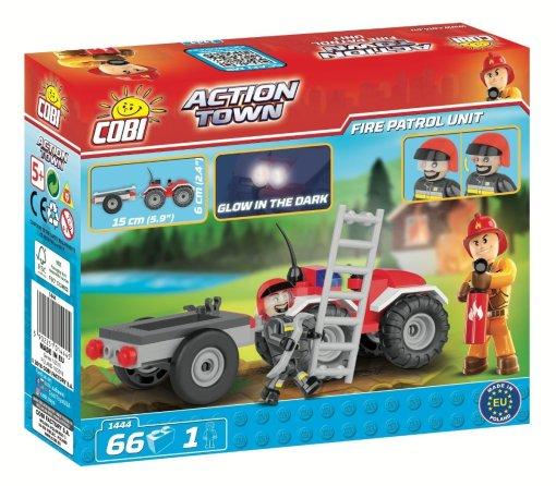 COBI Fire Patrol Unit Set (1444) Amazon