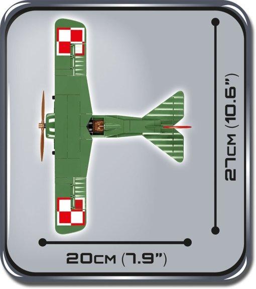 COBI Fokker EV D.VIII Set (2976) Width
