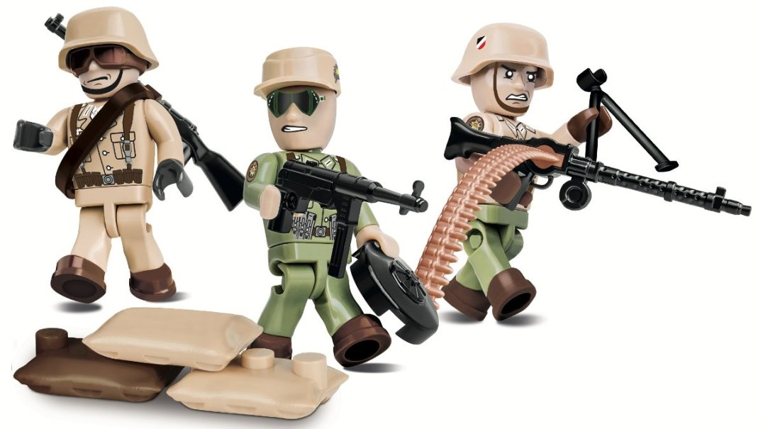 COBI German AFRIKA KORPS (2034) Amazon