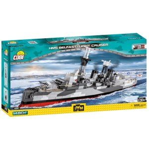 COBI HMS Belfast Light Cruiser (4821)