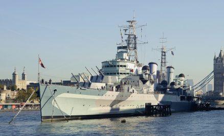 COBI HMS Belfast Light Cruiser (4821)