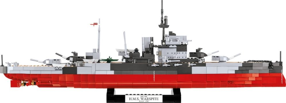 COBI HMS Warspite Battleship (4820) Best Price